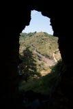 Chateau d'Alleuze stock foto's