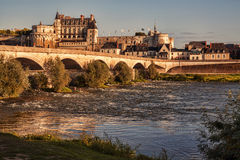Chateau d`Amboise, France. Stock Photo