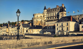 Chateau d`Amboise, France. Royalty Free Stock Images