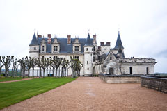 Chateau d'Amboise in the Loire Valley, France Royalty Free Stock Images