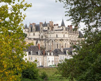 Chateau d'Amboise Stock Image