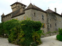 Chateau d Avully, Brenthonne ( France ) Stock Images