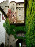 Chateau d Avully, Brenthonne ( France ) Royalty Free Stock Images