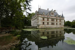 Chateau d'Azay-le-Rideau. Loire valley, France Stock Image