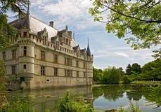 Chateau d'Azay-le-Rideau stock fotografie