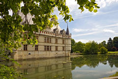 Chateau d'Azay-le-Rideau Royalty Free Stock Photography