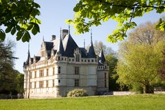 Chateau d'Azay-le-rideau Royalty Free Stock Image