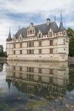 Chateau d'Azay-le-Rideau Stock Images
