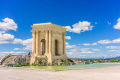 Chateau d Eau. In Montpellier Royalty Free Stock Images