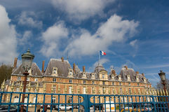 Chateau d'Eu in Normandy Royalty Free Stock Photos