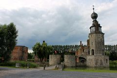 Chateau D 'Havre, Mons, Belgien royaltyfri fotografi