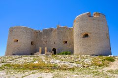 Free Chateau D`If, Famous France Prison On Island In The Bay Of Marseille. Castle If. Stock Photo - 139415030