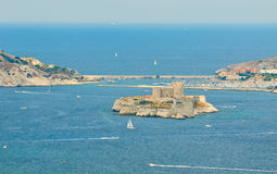 The chateau d'if, marseille, france Royalty Free Stock Photos