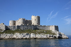 Chateau d'If - Marseille - France royalty free stock photos