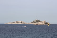 Chateau d'If in Marseille Stock Photography