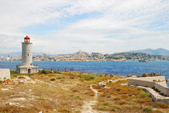 Chateau d'If in Marseille Stock Photos