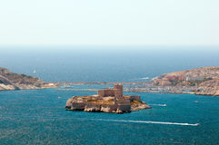 Chateau d'If in Marseilles Stock Photography