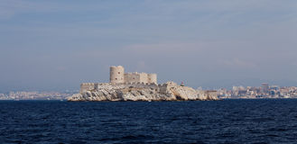 Chateau d'if near marseille Royalty Free Stock Photos
