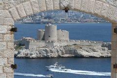 chateau D om Arkivbilder