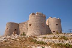 chateau D om marseille Arkivbilder