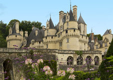 Chateau d'Usse Stock Photo