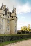 Chateau d'Usse (built XV - XVI century) from in Indre-et-Loire d Royalty Free Stock Photography