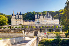 The chateau d'Usse, France Royalty Free Stock Photography