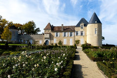 Chateau d Yquem, France Royalty Free Stock Images
