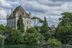 Chateau D ` Yvoire - Frankrijk Royalty-vrije Stock Fotografie