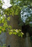 Grand viopis,drome,france. Chateau dans la foret dans la drome royalty free stock image