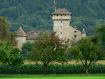 Chateau d´Avully, Brenthonne ( France ) Royalty Free Stock Photos