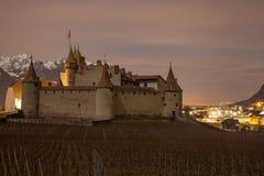 Chateau de Aigle, Vaud, Suiza Imagen de archivo