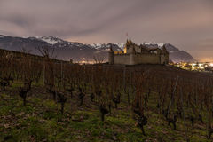 Chateau de Aigle, Vaud, Suiza Foto de archivo