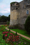 Chateau de Angers Royalty Free Stock Photo