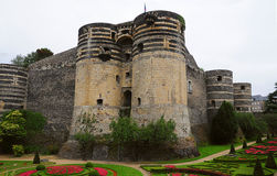 Chateau de Angers Royalty Free Stock Photography