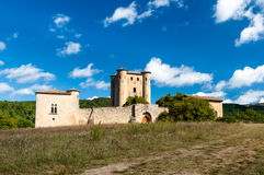 Chateau de Arques panoramic view Stock Photos