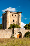 Chateau de Arques tower and main door Royalty Free Stock Photos