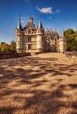 The chateau de Azay-le-Rideau, France. Stock Photography