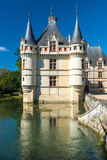 The chateau de Azay-le-Rideau, France Royalty Free Stock Photography
