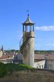 Chateau de Beaucaire 免版税库存照片