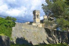 Chateau de Beaucaire 免版税图库摄影
