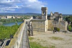 Chateau de Beaucaire 库存图片