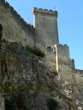 Chateau de Beaucaire, France Royalty Free Stock Photos
