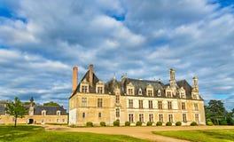 Chateau de Beauregard, en av Loiret Valley rockerar i Frankrike Royaltyfri Foto