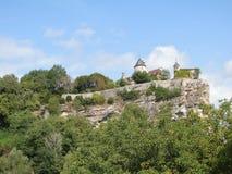 Chateau de Belcastel Stock Photography