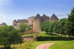 Chateau de Berzé fotografía de archivo