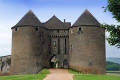 Chateau de Berzé imagen de archivo
