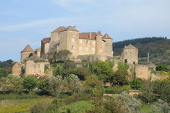 Chateau De Berze-le-Chatel Royalty Free Stock Images