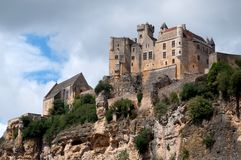 Chateau de Beynac Royalty Free Stock Photo