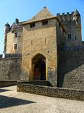 Chateau de Beynac (France ) Royalty Free Stock Images